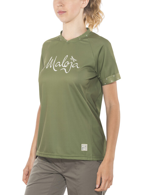 Maloja SuvrettaM. Multi Short Sleeve Jersey Women bamboo
